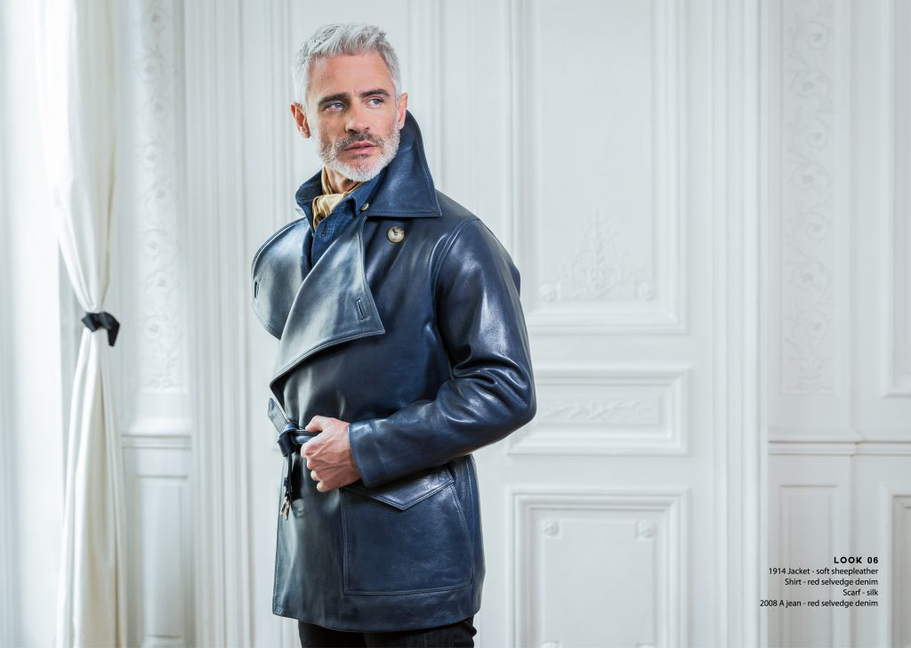 Lookbook Spring Summer qualité quality luxe luxury cuir leather casual chic gentleman dandy blouson aviateur flying jacket