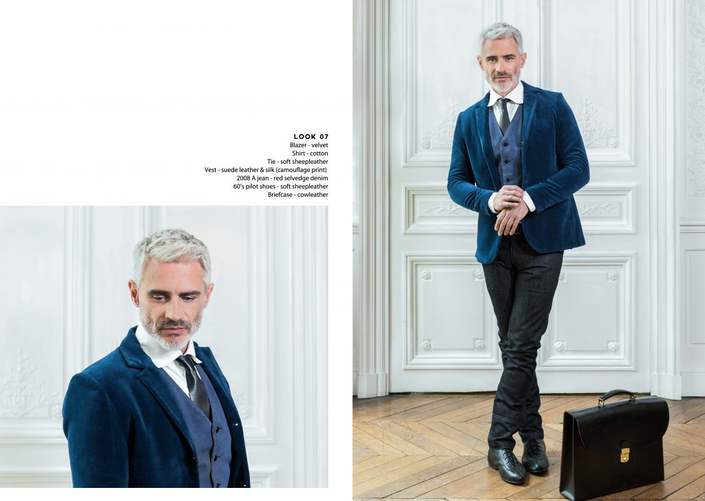 Lookbook Spring Summer qualité quality luxe luxury cuir leather casual chic gentleman dandy blazer