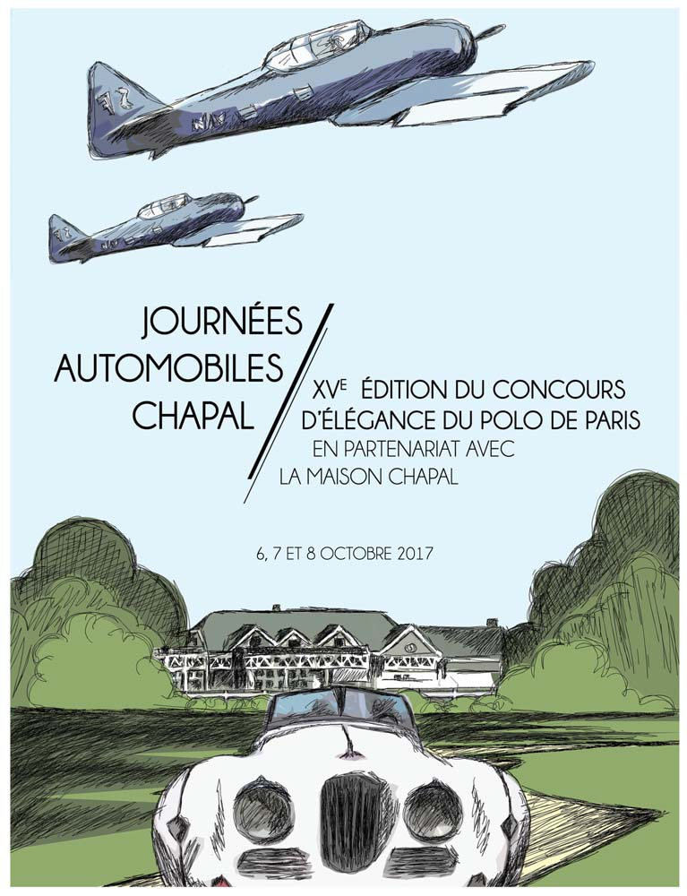 Journées automobiles CHAPAL 2017 car vintage luxe luxury collection
