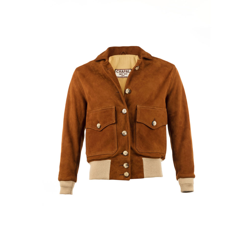 AE 1932 Jacket - Suede leather - Suzy color