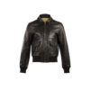 Brooklyn Disco Jacket - Dipped leather - Black color