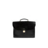 Suitcase - Vegetable tanned leather - Black color