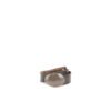 Customized Buckle Belt - Vegetable tanned leather - Brown color