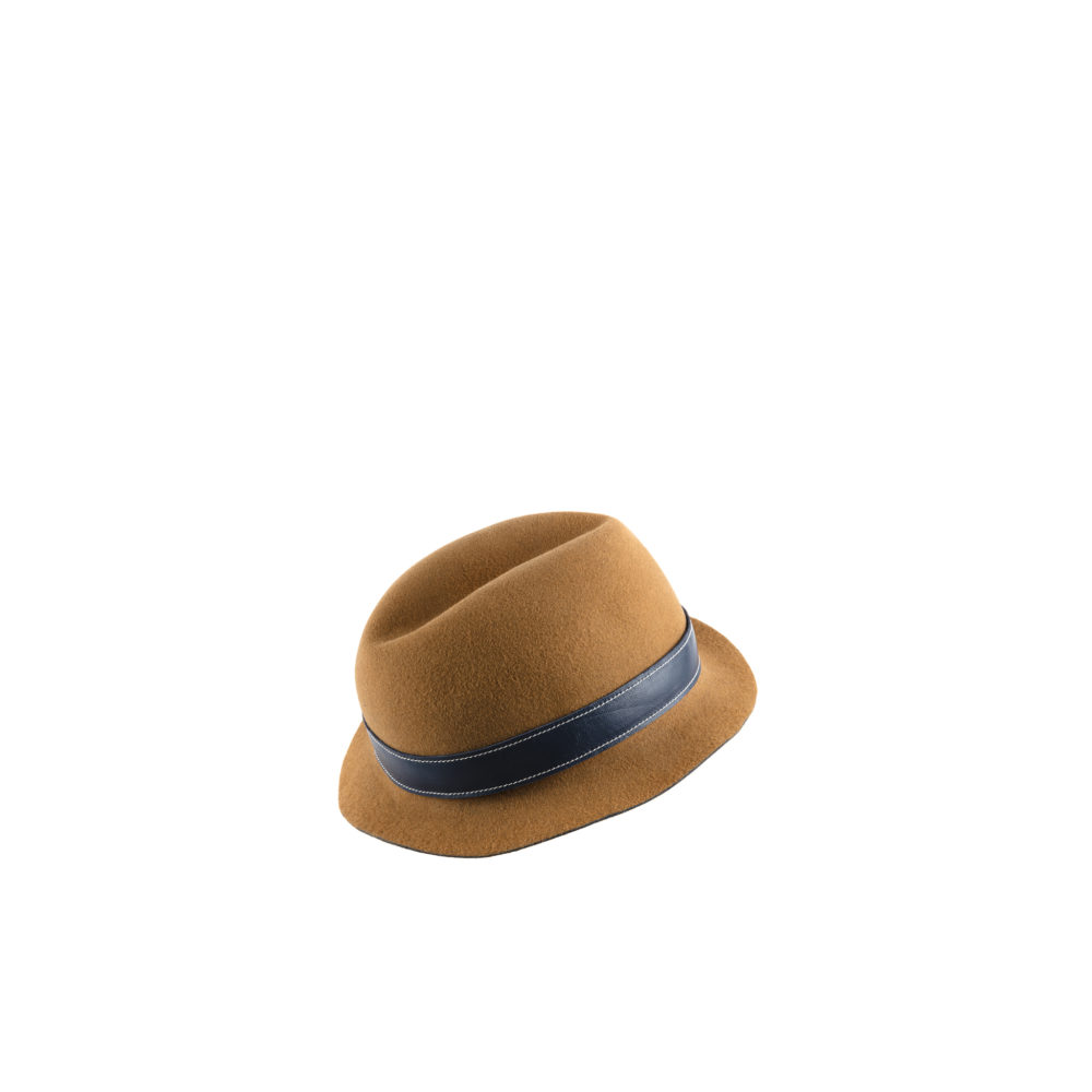 Hat N°1 - Natural felter - Camel color