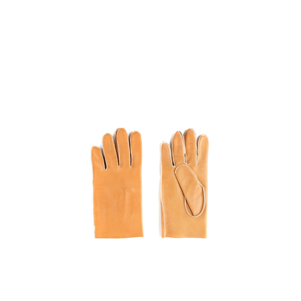 N°1 Gloves - Lamb leather - Tan color