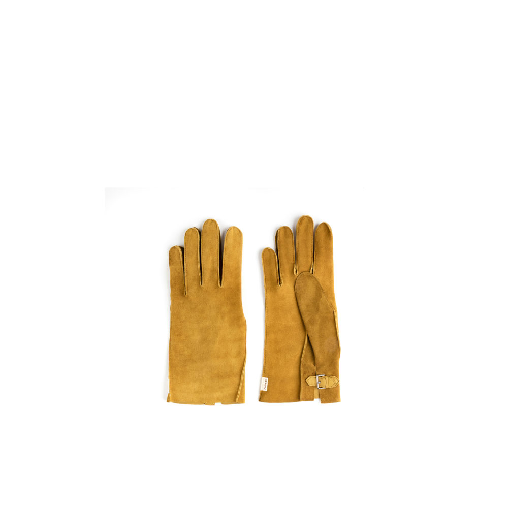 Saumur Gloves - Lamb suede leather -