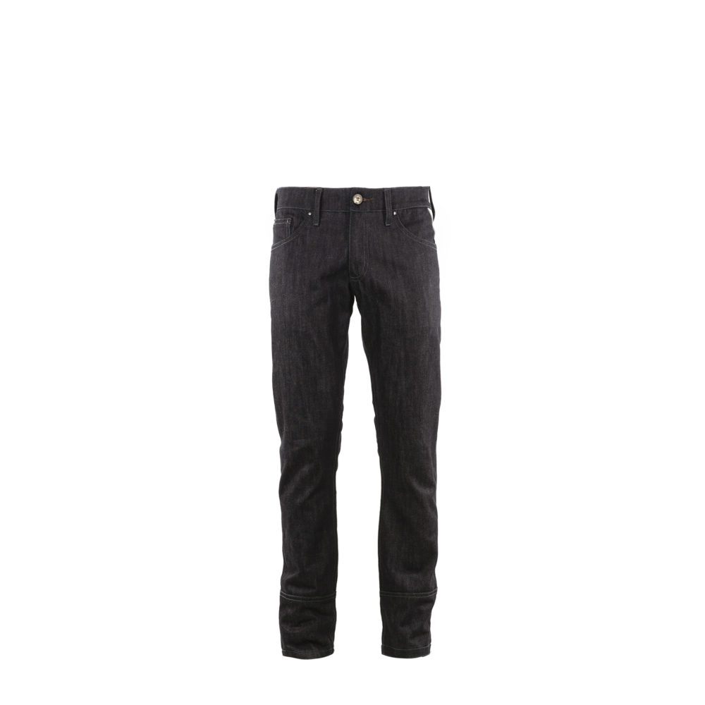 Jeans 2008A Brut - Denim canvas - Dark blue color