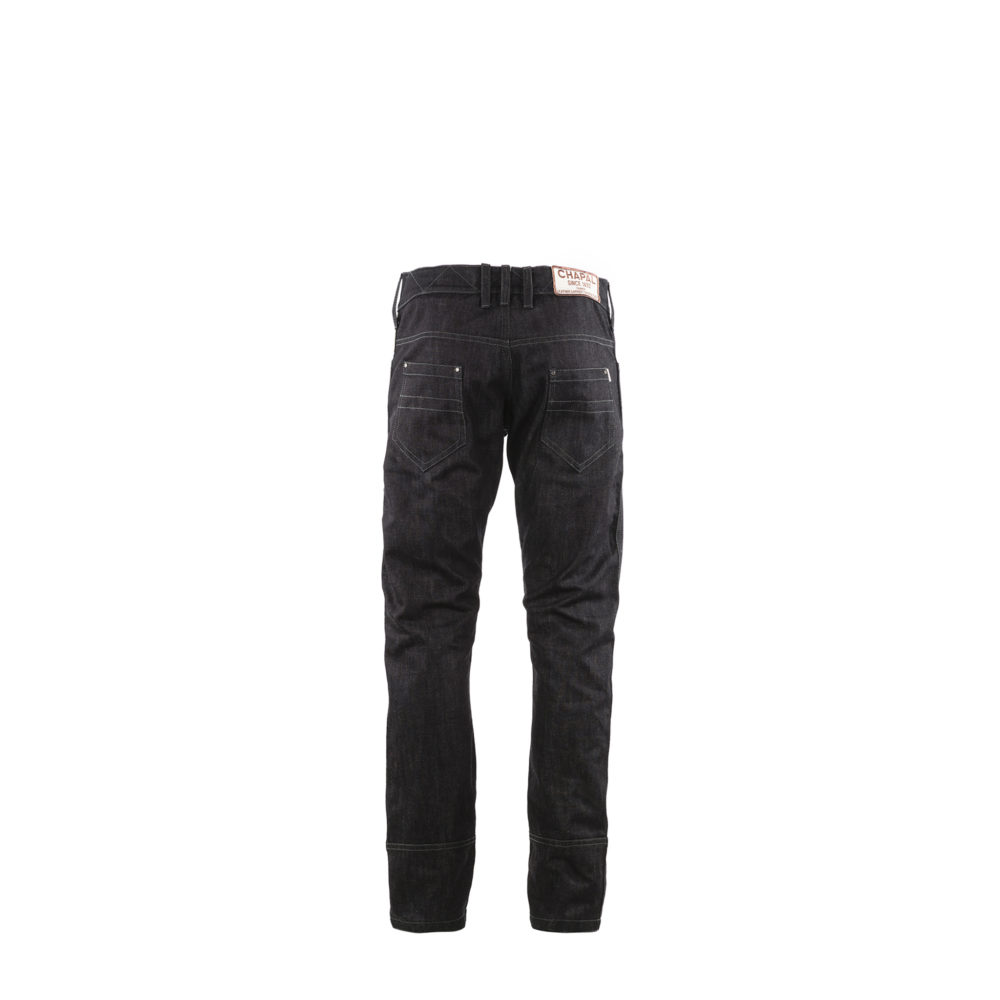 Jeans 2008A Brut - Denim canvas - Dark blue color