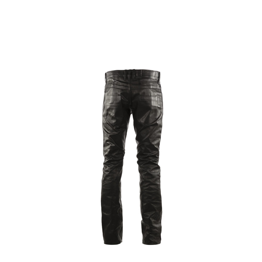 Jeans 2008A - Nappa finish - Black color
