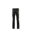 Jeans 2008A - Nappa finish - Black color