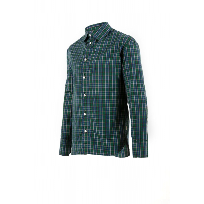 Chemise 70's à carreaux