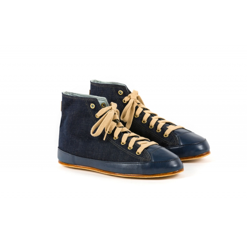 Baskets Montantes Denim