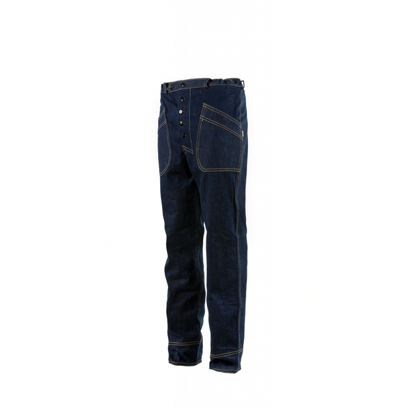 Pantalon Pilote Denim