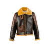 B3 Jacket - Varnished shearling