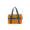 Medium Soft Bag - Suede leather - Orange and blue colors