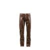 Pantalon 2008A - Cuir glacé - Couleur brun