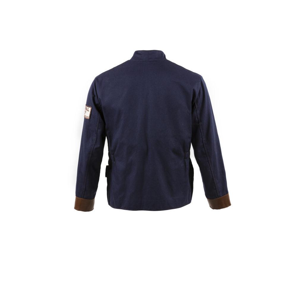 Pebble Beach Jacket - Cotton gabardine - Blue color
