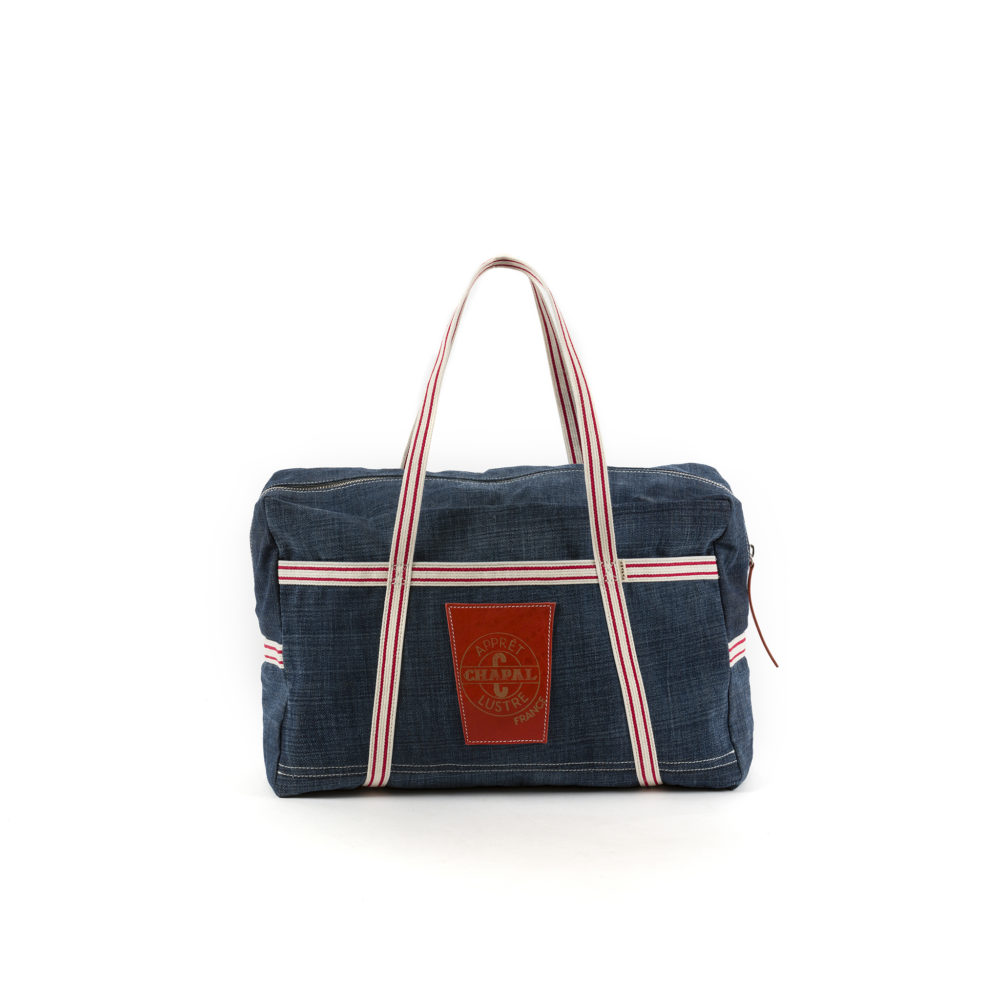 Medium Soft Bag - Denim canvas