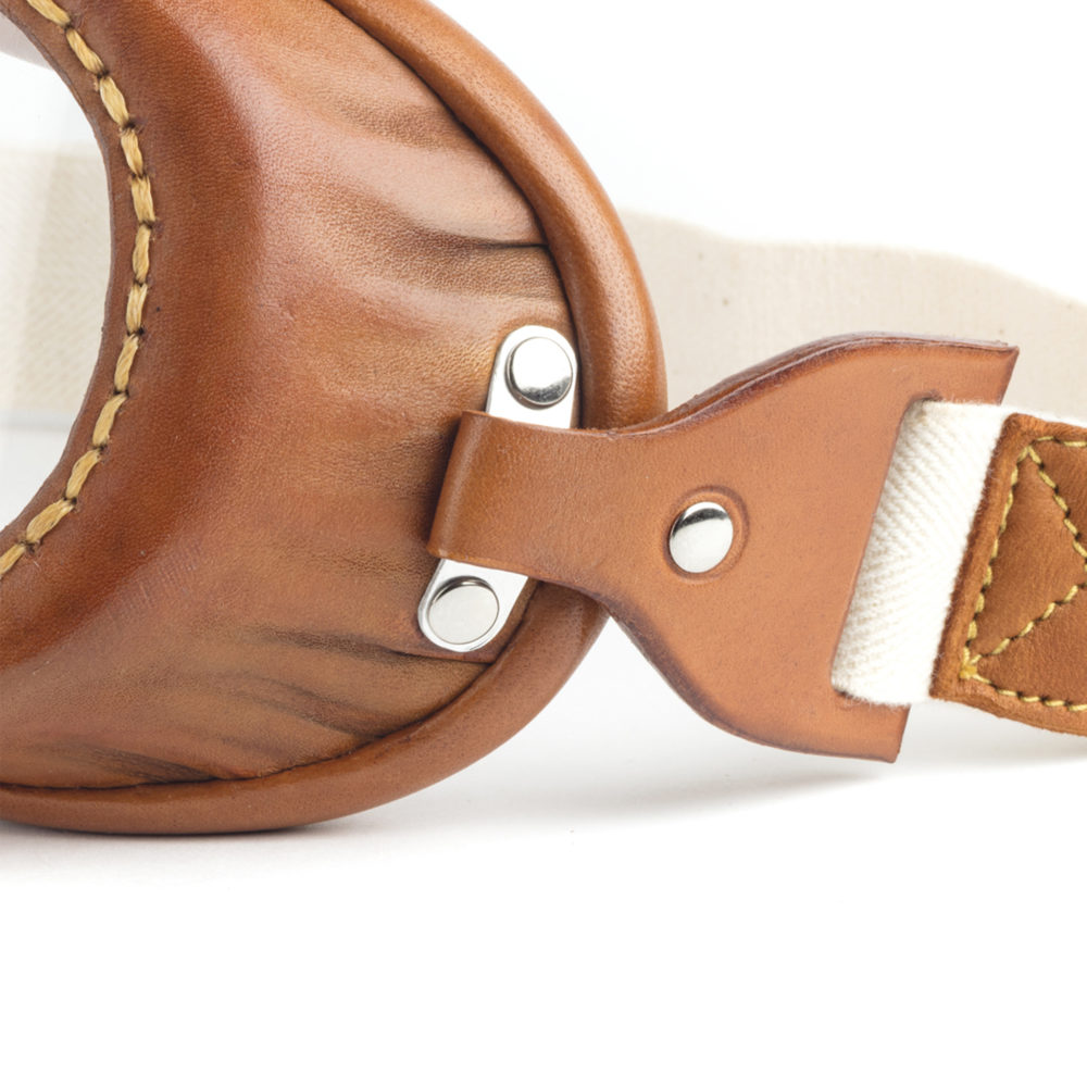 1960 Mask - Vegetal tanned leather - Tan color