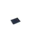 Card Holder - Vegetable tanned leather - Blue color