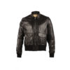 Brooklyn Fit Jacket - Glossy leather - Black color