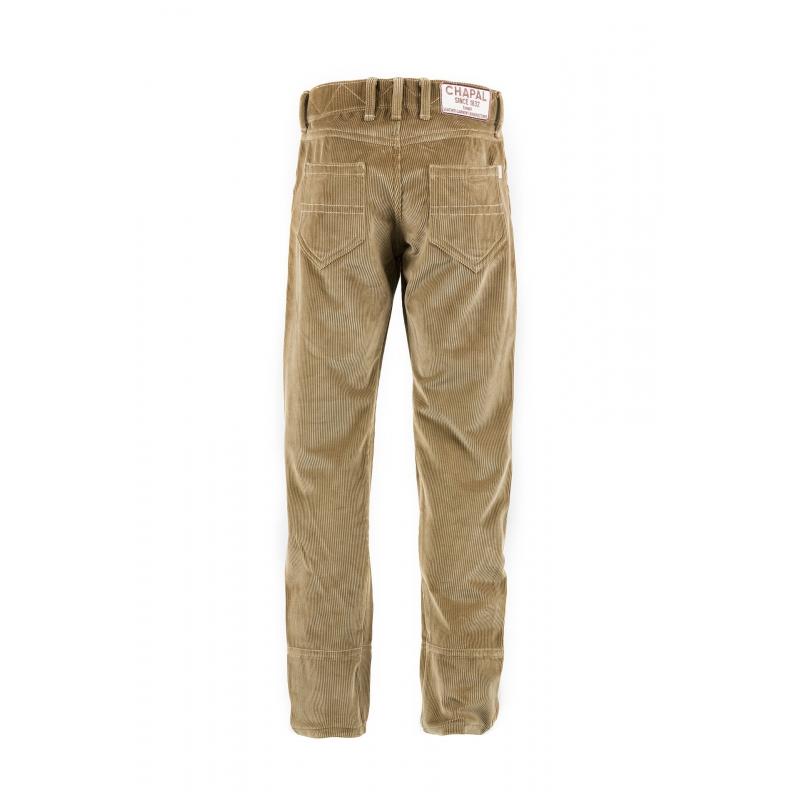 Pantalon 2008 A velours côtelé beige