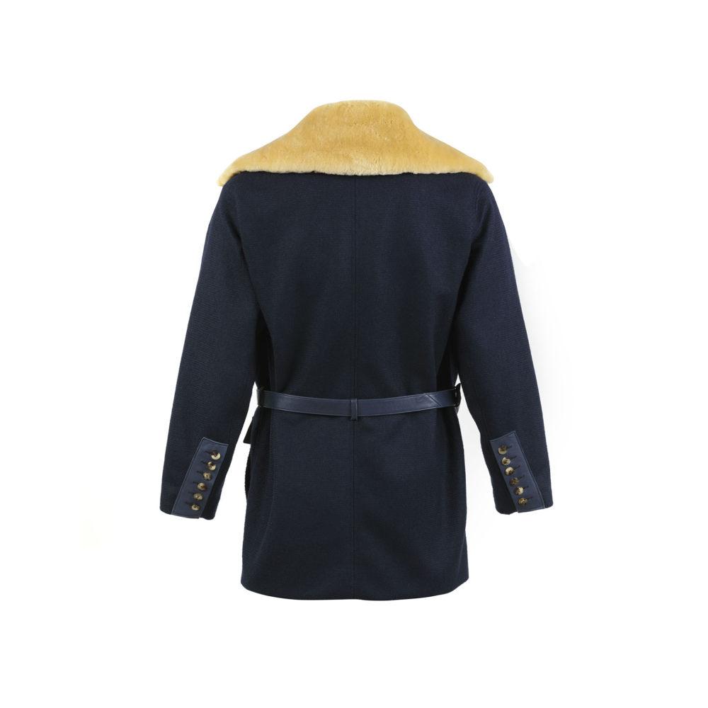 1914 Vest - Merino wool - Blue color