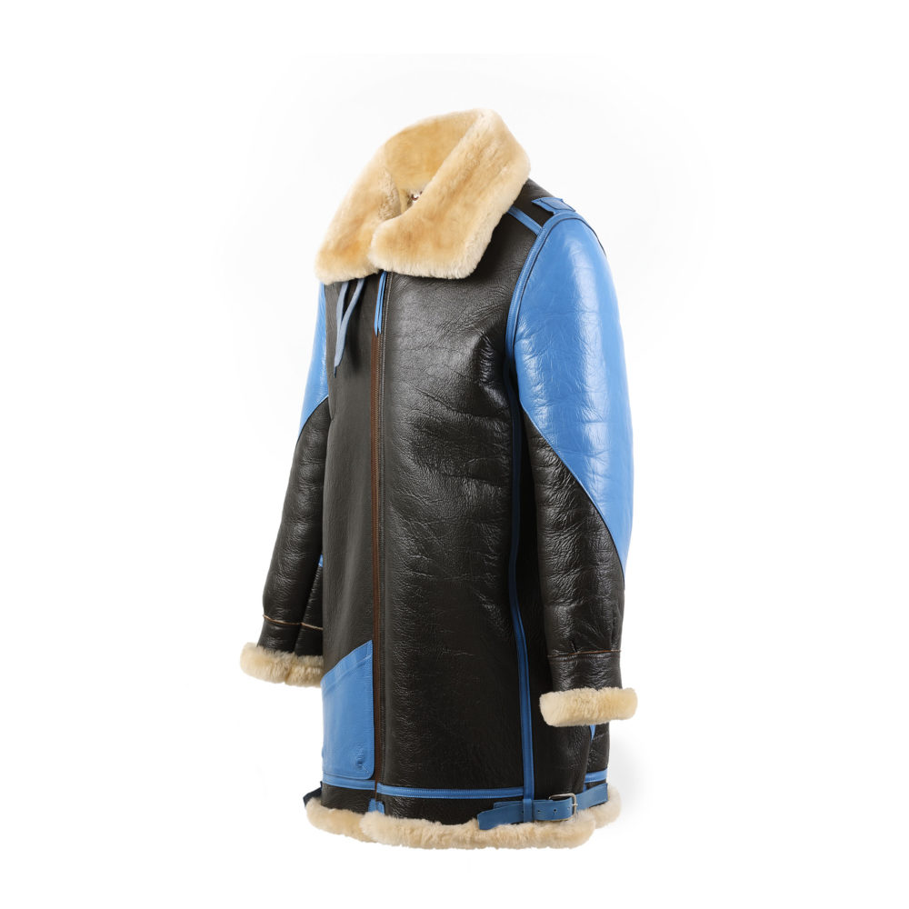 B3 3/4 Jacket - Varnished shearling