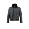 Bomber Country Jacket - Merino wool - Grey color
