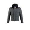 Bomber Jacket - Merino wool - Grey color