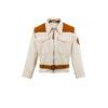 Blouson Haut de Combinaison 1950 - Gabardine de coton écrue