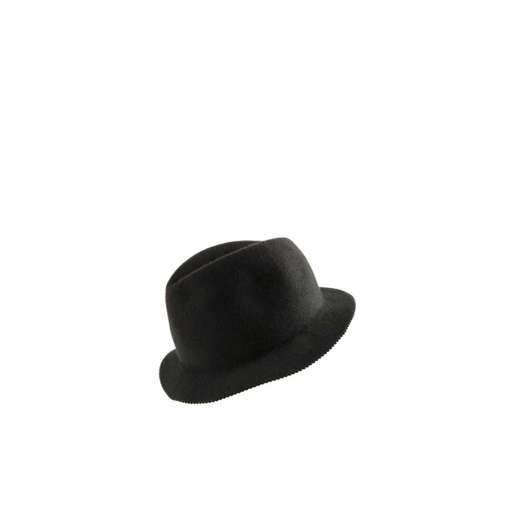 Hat N°1 - Natural felter - Black color