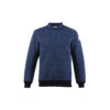 Jumper N°1 - Merino wool - Blue color