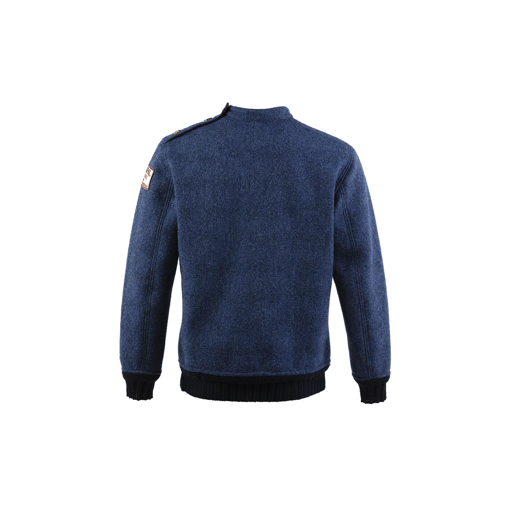 Jumper N°1 - Merino wool - Blue color
