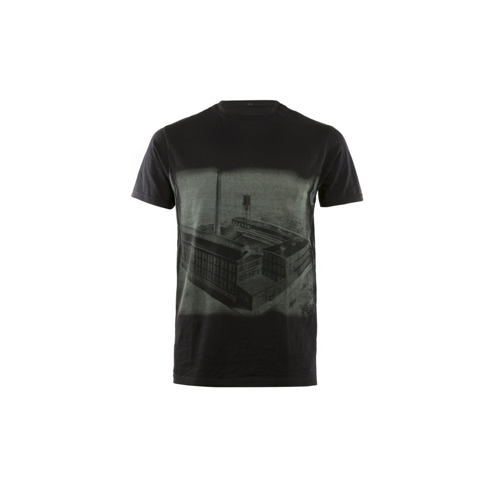 T-shirt Brooklyn - Jersey de coton - Couleur noir