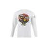 T-shirt Flowers - Cotton jersey - White color