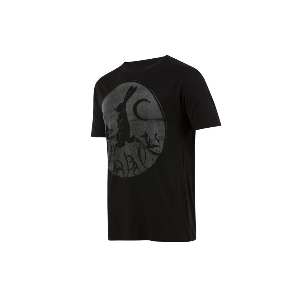 T-shirt Lapin - Jersey de coton - Couleur noir