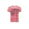 T-shirt Stamp Red - Cotton jersey - Red color