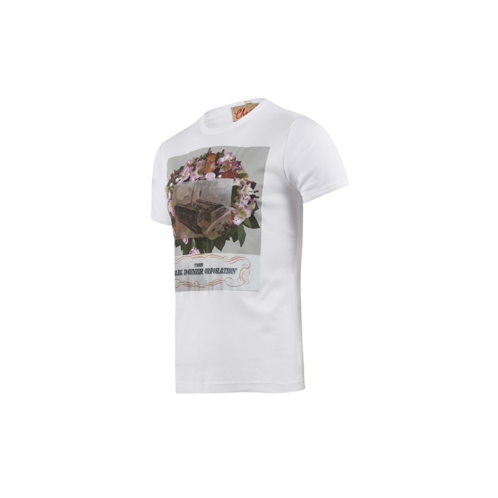 T-shirt Manufacture Brooklyn - Jersey de coton - Couleur blanc