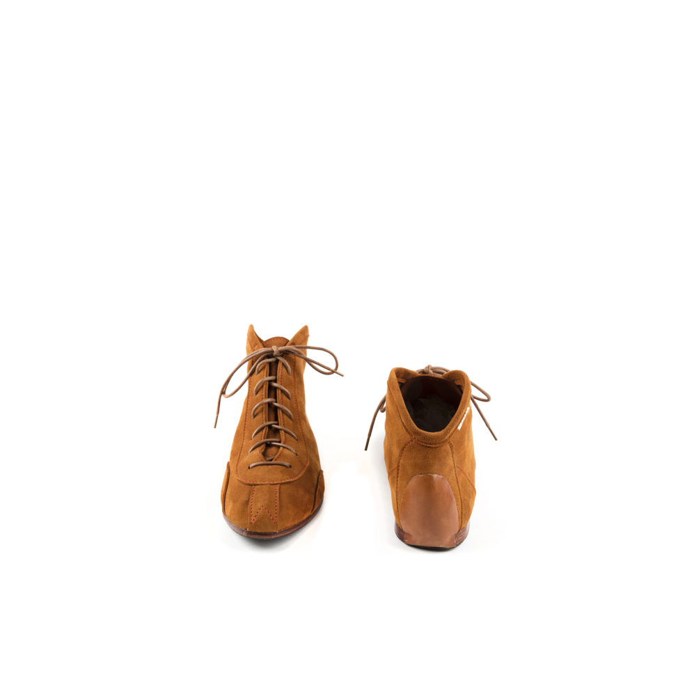 Pilot 60's Shoes - Suede leather - Suzy color