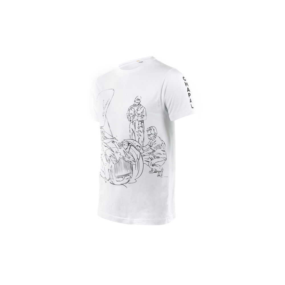 T-shirt Allard - Cotton jersey - White color
