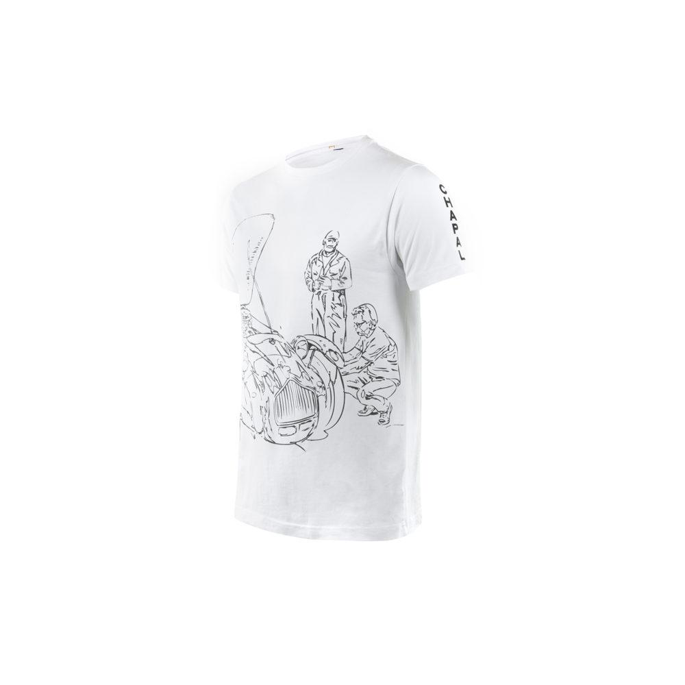 T-shirt Allard - Jersey de coton - Couleur blanc