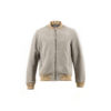 Blouson Daim - Suede leather - Grey color