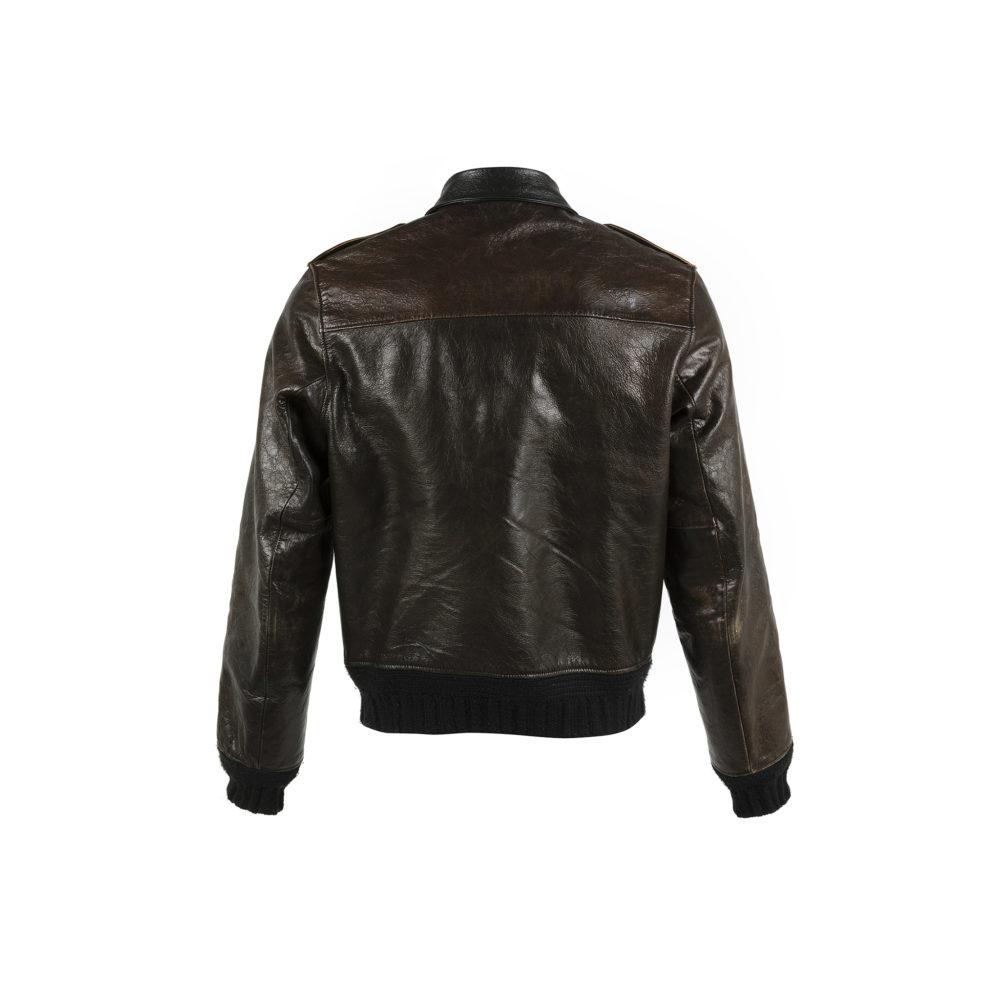 Brooklyn Fit Jacket - Vegetable leather - Black color