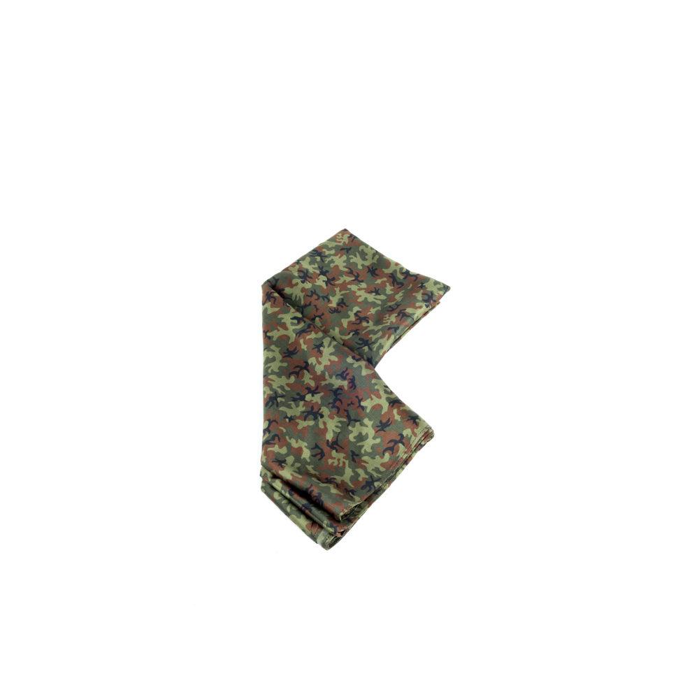 Silk Scarf - Camouflage silk