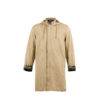 Raincoat - Camouflage lining - Cotton gabardine - Beige color