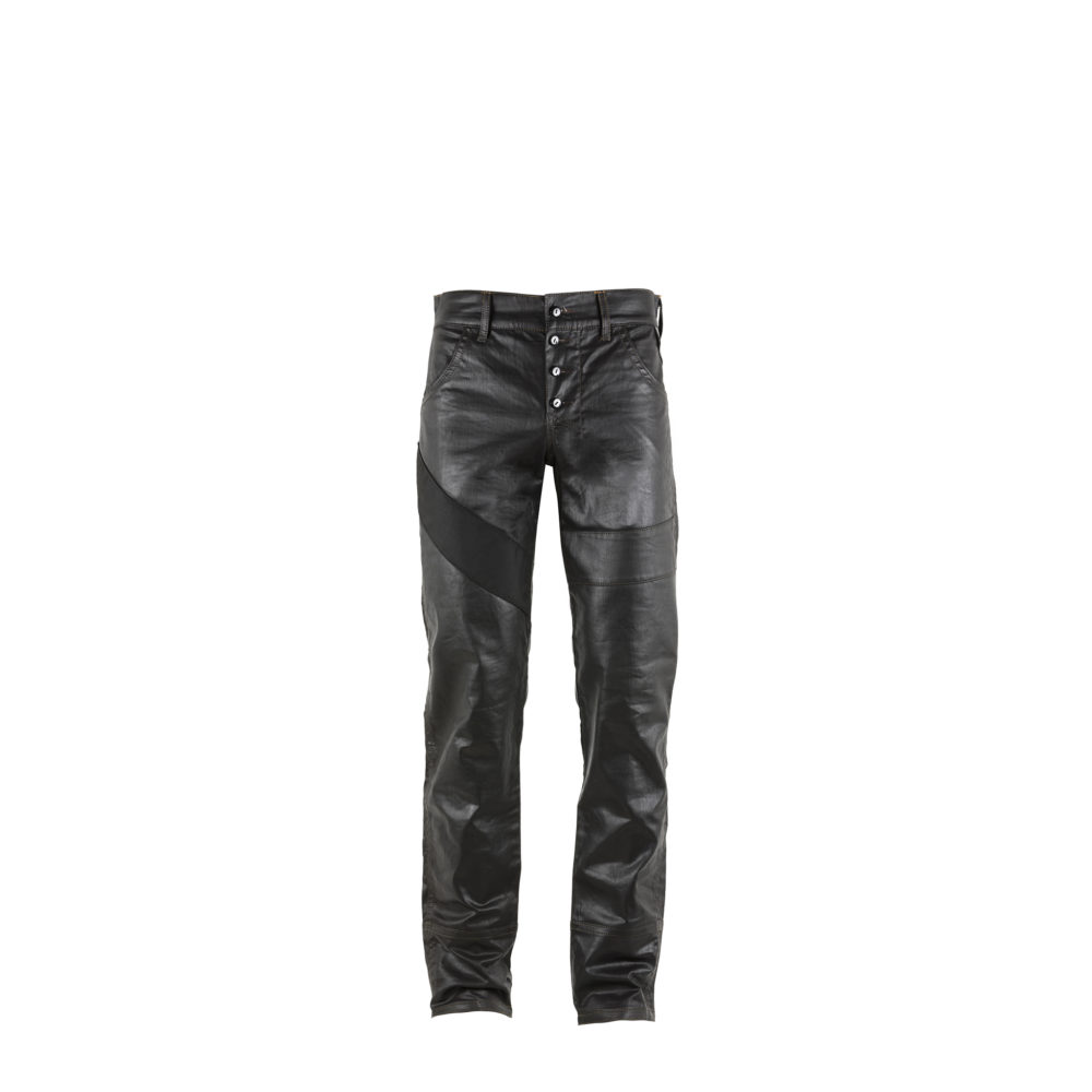 Jeans 2006A - Nappa finish - Black color