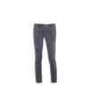 Jeans 2016F - Toile denim - Doublure rouge