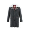 Coat N°1 - Merino Wool - Anthracite color