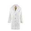Coat N°1 - Rabbit fur - White color